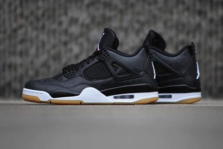 "Air Jordan 4 Black ""Laser"" Confirmed For This Weekend  New Images 24fc06c49"