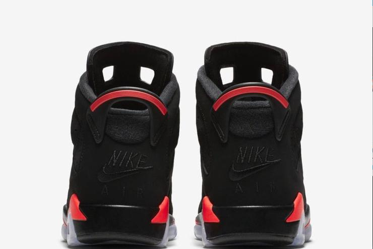 1f77cbd366a ... greece air jordan 6 black infrared returning in sizes for the whole  family dd13e 1d5ac