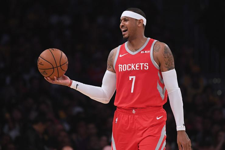 Rockets Trade Carmelo Anthony To Bulls