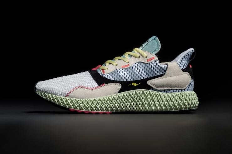 buy popular 32592 daf7c Adidas Introduces The ZX 4000 4D Release Details  Official I