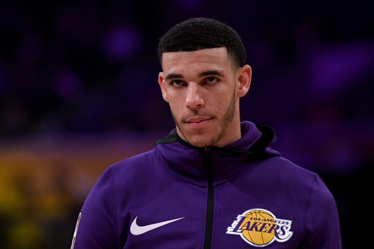 Lonzo Ball plays appropriate music after trade deadline passes