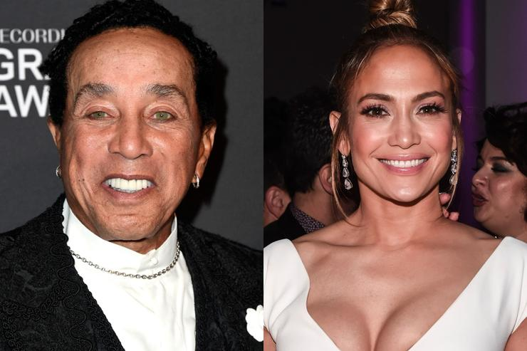 Smokey Robinson defends Jennifer Lopez's Motown tribute at Grammys