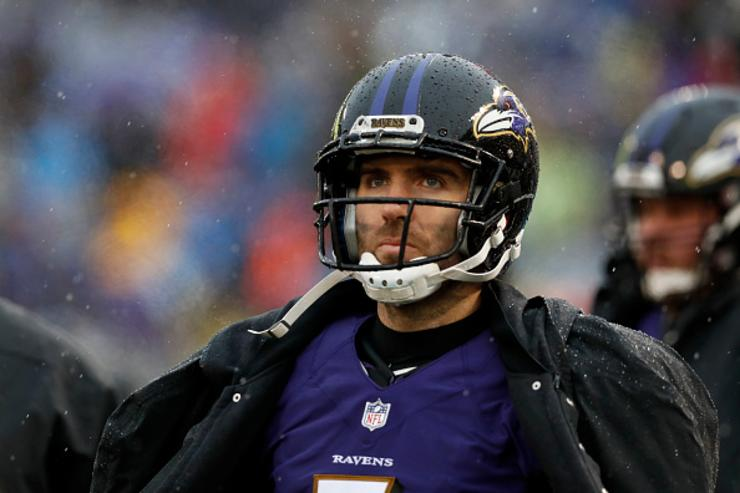 Joe Flacco's ex-teammate Elvis Dumervil calls the Broncos' trade 'definitely desperate'