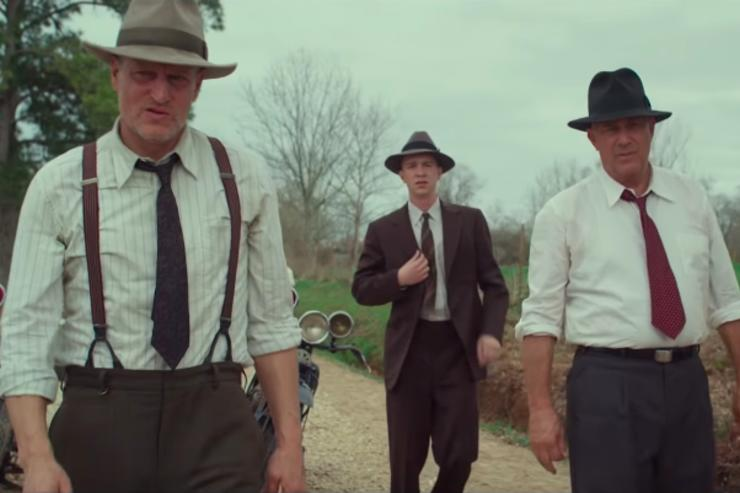 Kevin Costner & Woody Harrelson in First Trailer for 'The Highwaymen'