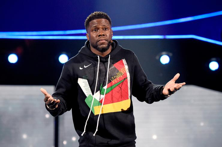 Kevin Hart 'Hollow Apology' Statue Erected for Academy Awards