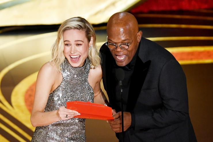 Brie Larson And Sam Jackson Tell Truth & Lies On 'Carpool Karaoke'