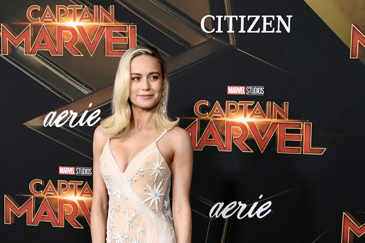 Brie Larson Serves Refreshment And Surprises Moviegoers During