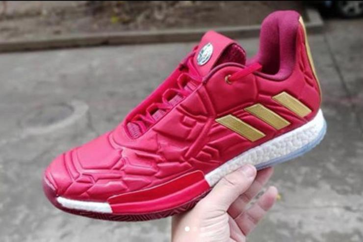 Image result for adidas james harden vol 3 iron man
