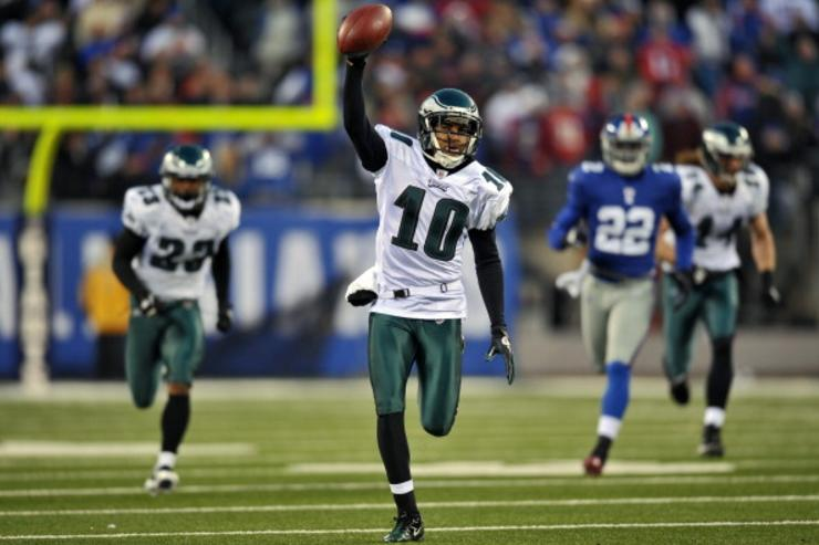 Wide receiver DeSean Jackson returning to the Philadelphia Eagles