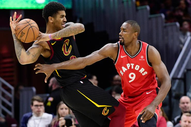 Serge Ibaka Fights Marquese Chriss as Raptors Face Cavs