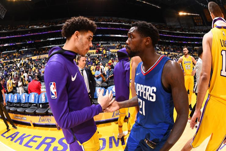 Patrick Beverley Describes Lonzo Ball In One Word: