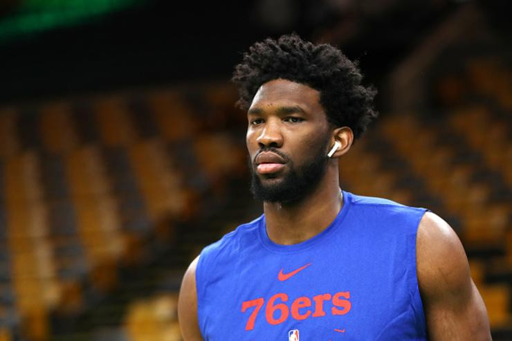Celtics' Marcus Smart Ejected for Shoving Joel Embiid to the Ground