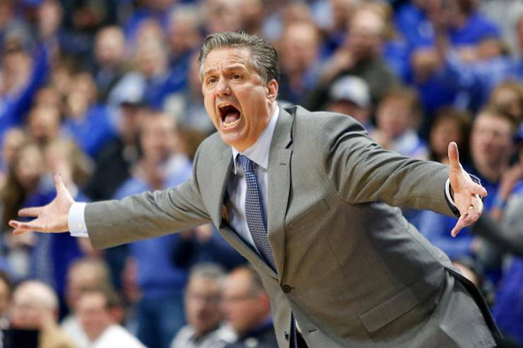 Calipari: 'Guess' is Washington out for Round 2