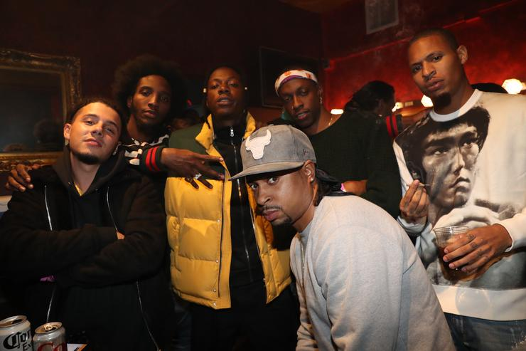 Nyck Caution, CJ Fly, Joey Badass, Lex, Issa Gold and AK