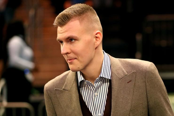 The NBPA reportedly in support of Kristaps Porzingis