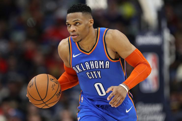 Russell Westbrook records second 20-20-20 game ever