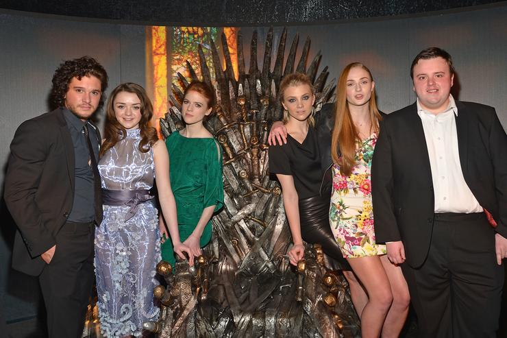 Game of Thrones stars in NI for season eight premiere
