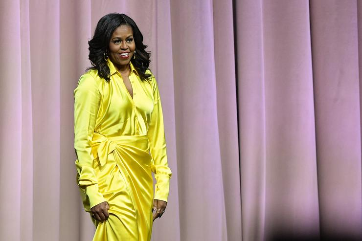 Michelle Obama Hits At Trump: America Is Now 'Living With Divorced Dad'