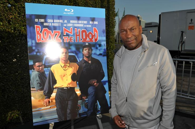 """Director John Singleton attends the """"Boyz N The Hood"""" unofficial party during the 2011 Los Angeles Film Festival held at the Jameson Filmmaker Lounge at L.A. LIVE on June 23, 2011 in Los Angeles, California."""