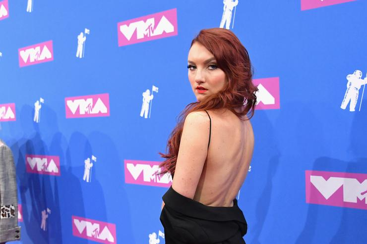 Kacy Hill attends the 2018 MTV Video Music Awards at Radio City Music Hall on August 20, 2018 in New York City