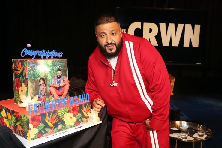 DJ Khaled Father of Asahd Interview in NYC