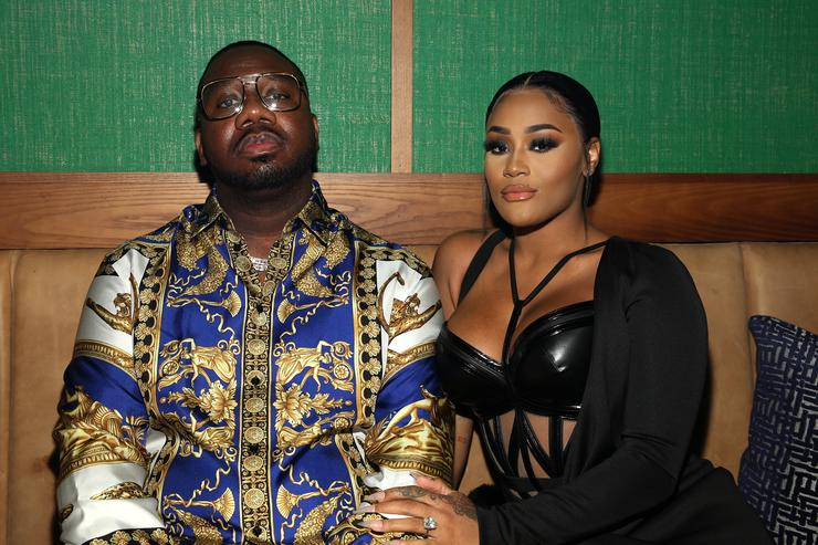 Pierre Pee Thomas and Lira Galore attend the Billboard 2018 R&B Hip-Hop Power Players event at Legacy Records on September 27, 2018 in New York City.