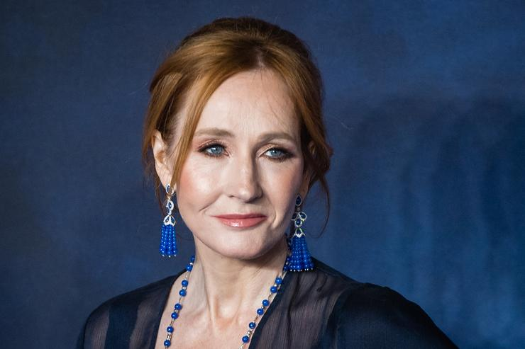 """.K Rowling attends the UK Premiere of """"Fantastic Beasts: The Crimes Of Grindelwald"""" at Cineworld Leicester Square on November 13, 2018 in London, England."""