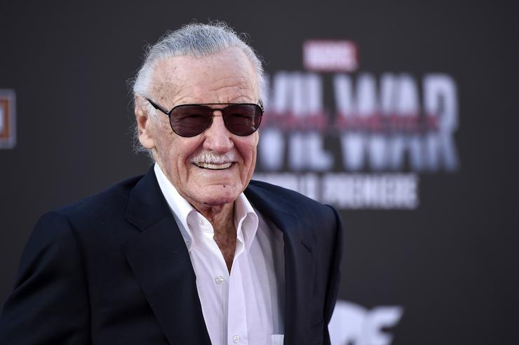 """Stan Lee attends the premiere of Marvel's """"Captain America: Civil War"""" at Dolby Theatre"""