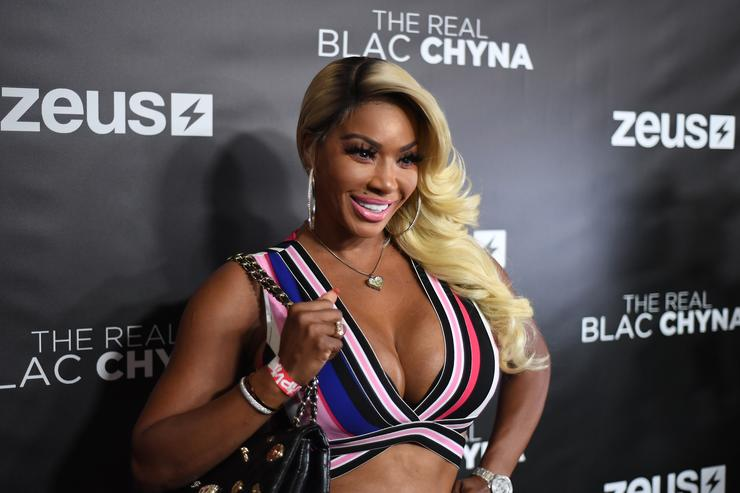 "Ms. Pooh Hicks attends ""The Real Blac Chyna"" Atlanta Premiere screening at Regal Cinemas Atlantic Station Stadium 16 on July 14, 2019"
