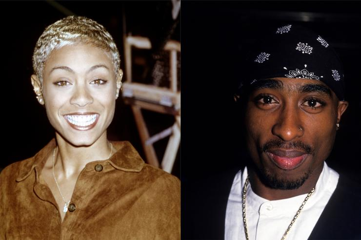 Jada Pinkett-Smith & Tupac