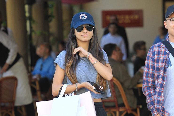 Mia Khalifa is seen on October 20, 2017 in Los Angeles, CA