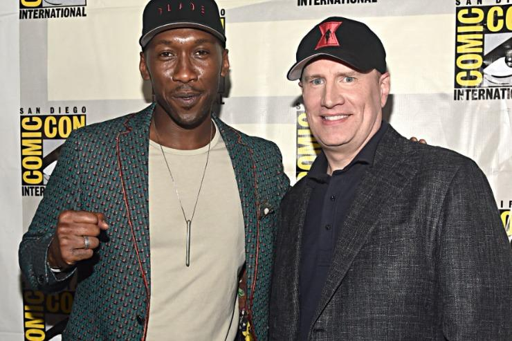 Mahershala Ali and Kevin Feige