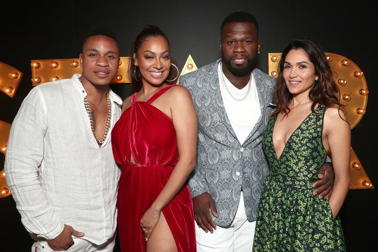 Power cast at the premiere