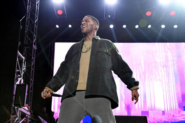 Kid Cudi performs onstage at adidas Creates 747 Warehouse St. - an event in basketball culture on February 17, 2018 in Los Angeles, California