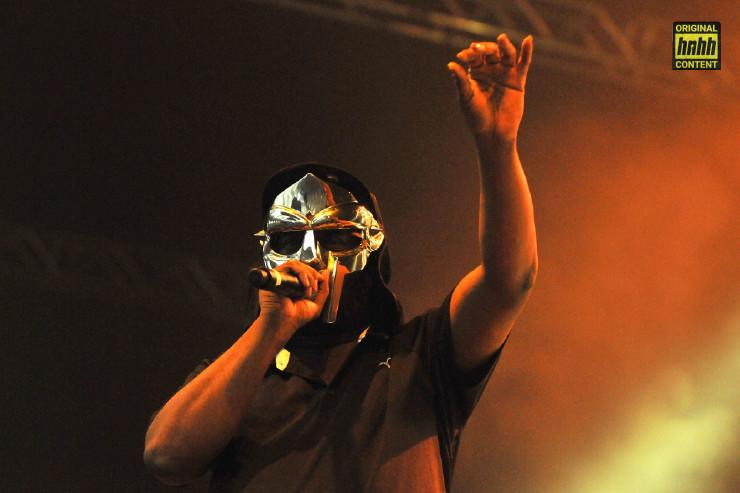MF Doom wears a mask