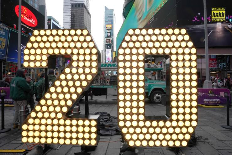 2020 NYE in Times Square