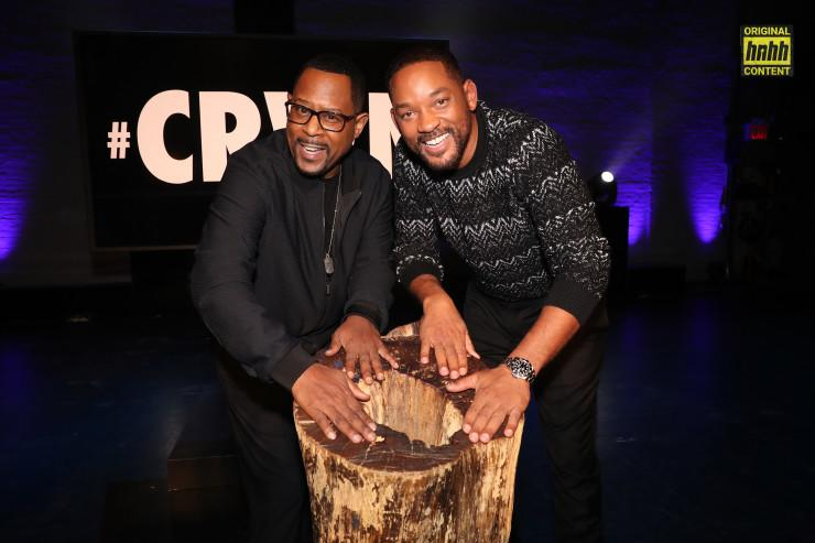 Will Smith & Martin Lawrence at the TIDAL CRWN interview