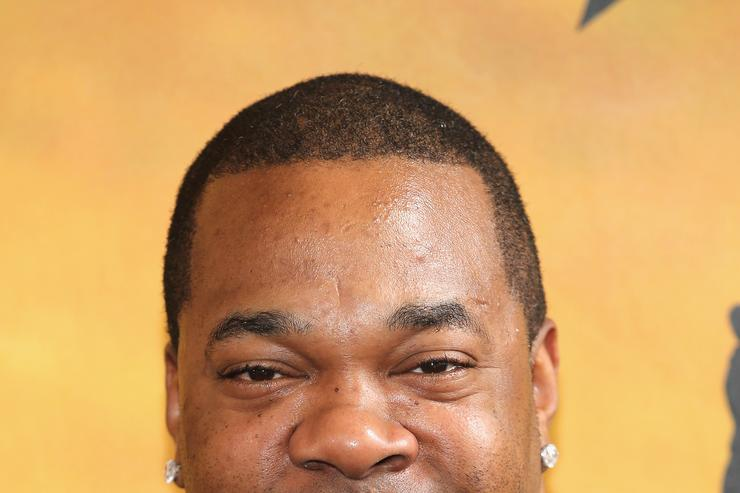 "Busta Rhymes at ""Hamilton"" Broadway premiere"