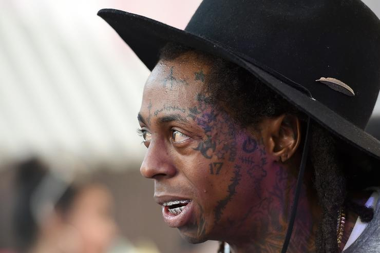 Lil Wayne at the Foxtail Pool At SLS Las Vegas