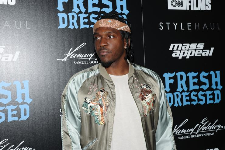 Pusha T At Fresh Dressed Screening