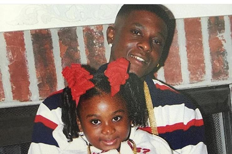 Boosie & his daughter on IG
