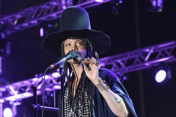 erykah badu at 10th Annual Jazz In The Gardens