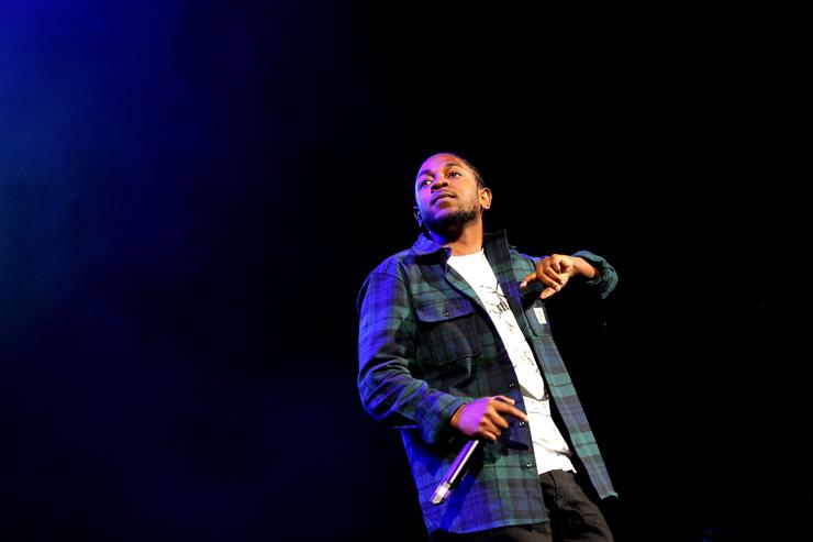 Kendrick Lamar at Powerhouse 2015