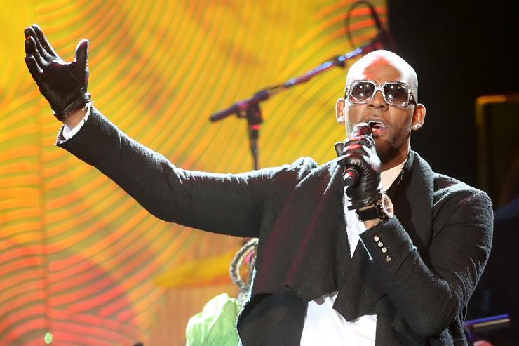 R. Kelly The 56th Annual GRAMMY Awards