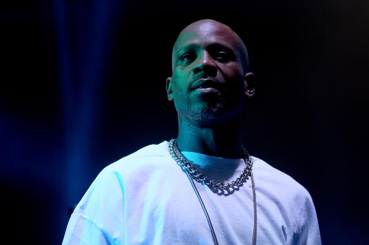DMX at Coachella on stage