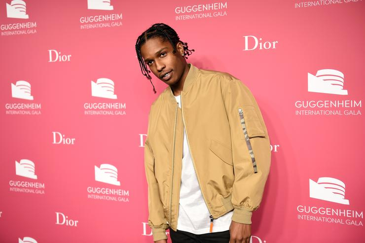 ASAP Rocky at the Guggenheim International Gala