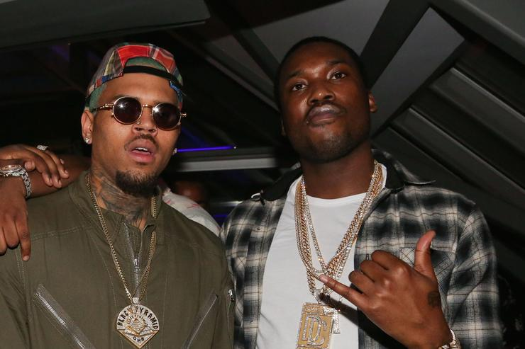 Meek Mill Official Grammy Party Chris brown meek mill Sean Kingston, Trav