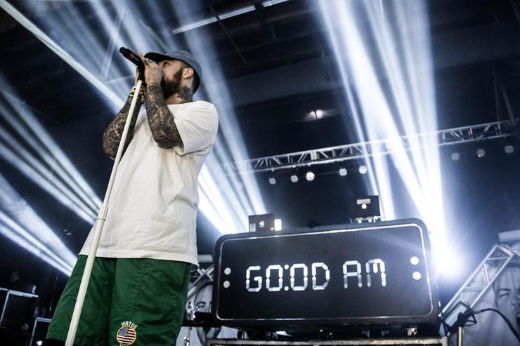 Mac Miller peforms on Good AM Tour