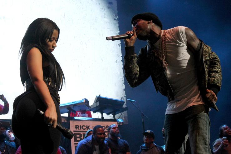 Nicki Minaj & Meek Mill at Powerhouse 2015