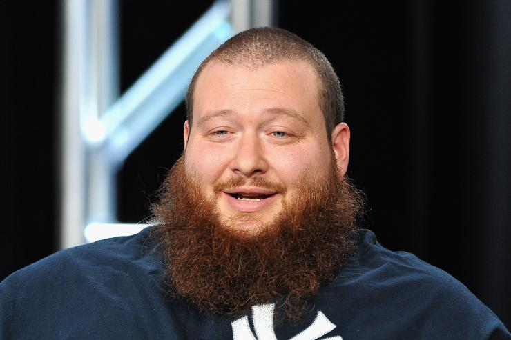 Action Bronson at a promotional event for Viceland.